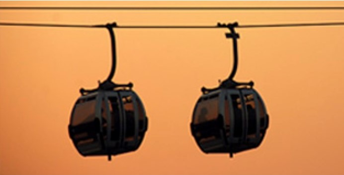 london emirates cable car